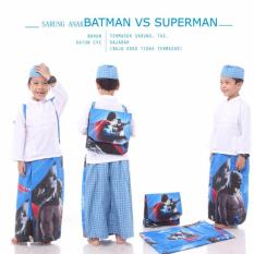 Madeena Sarung Anak Batman VS Superman