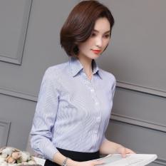 Spesifikasi Madu Slim Ol Lengan Panjang Bergaris Biru Kemeja Halaman Rumah Titik Perhatian Untuk Mengirim 10 Amoy Emas Paling Bagus