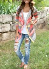 MagicWorldmall Women's Fashion Floral Top Blouse Coat Jacket Outwear Blazer Kimono Cardigan - intl