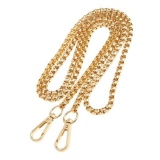 Rose Gold Purse Strap Replacement Chain Strap 43 inch Metal Chain