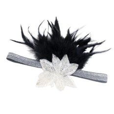 Beli Magideal Vintage 1920 S Feather Flapper Silver Leaf Headband Pesta Headpiece Berdandan Internasional Pakai Kartu Kredit