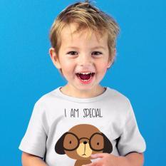 Jual Magnolia Kaos Baju T Shirt Pakaian Anak Bergambar Dog 2 3 Tahun Putih Satu Set