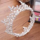 Beli Aksesoris Rambut Tiara Mahkota Kristal Dan Mutiara Warna Putih Yang Bagus
