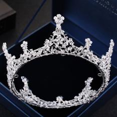 Beli Mahkota Bergaya Eropa Menikah Mahkota Kepala Lengkap