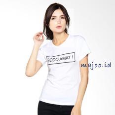 ID T-Shirt Cewek / Tumblr Tee / Kaos Wanita Bodo Amat -