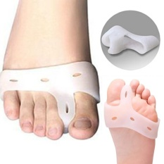 Promo Makiyo Silicone Gel Thumb Toe Health Care Separators Straighteners One Pair Intl Tiongkok