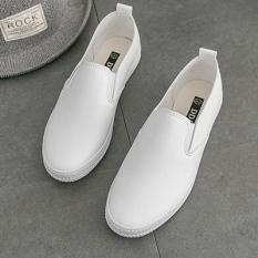 Chic Sepatu Kets Putih Musim Semi dan Musim Panas Sepatu Wanita Perempuan (Putih)