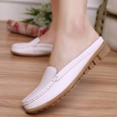 Malas Non Slip Sandal Wanita Hamil Putih Sepatu Wanita Sandal Wanita Terbaru