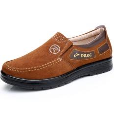 Spesifikasi Beijing Oldish Pijakan Empuk Sol Tebal Ayah Sepatu Sepatu Kain Unta Yg Baik