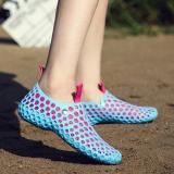 Harga Malas Versi Korea Perempuan Beberapa Pantai Sandal Sepatu Lubang Buyun Td 666 Langit Biru Merah Muda Sepatu Wanita Sendal Wanita Terbaik