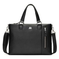 Berapa Harga Tas Pria Woven Pola Cross Section Man Shoulder Bag Handbag Satchel Bag Mens Bisnis Briefcase Zmgang Di Tiongkok