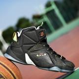 Toko Male Basketball Shoes Help High Basketball Shoes Wear Boots L Intl Termurah