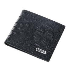 Pria Dompet Kulit Buaya Model Fashion Dompet Kulit Asli Pria Uang Bag Pocket Carteras De Marca Jual HOT! -Intl