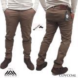 Harga Malmo Chino Panjang Chino Pants Premium Quality Formal Kantor Covcoal Di Indonesia