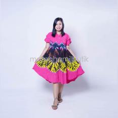 Toko Mama Hamil Baju Hamil Daster Hamil Pelangi Katun Batik Pink Indonesia