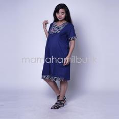 Mama Hamil Baju Hamil Dress Menyusui Etnik Krah V Tiffani / Baju Hamil Kaos / Baju Hamil Kerja / Baju Hamil Modis / Baju Hamil Lucu / Baju Hamil Modern / Baju Hamil Muslim / Baju Hamil Untuk Kerja /Baju Hamil Kerja Modis / Baju Hamil Kerja Lengan Panjang.