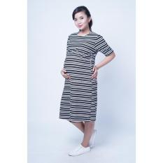 Mama Hamil FREE CD Hamil Baju Hamil Dress Hamil Menyusui Simple Lorek Waffle Velyn Dress / Dress Hamil Pesta / Dress Hamil Lucu / Dress Hamil Kantor Dress Hamil Muslim / Dress Hamil Batik / Dress Hamil Modis / Dress Hamil Korea / Dress Hamil Online.