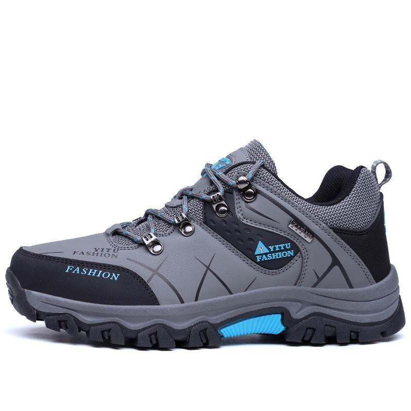 Sepatu Gunung ukuran Besar untuk Olahraga Luar Ruangan, Petualangan, Panjat Tebing, Berkemah,
