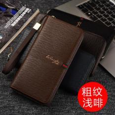 Harga Man Long Tas Clutch Dompet Multi Fungsi Multi Dompet Kartu Fashio Waktu Luang Berkapasitas Tinggi Handbag Intl Baru