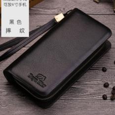 Jual Beli Online Man Long Tas Clutch Dompet Multi Fungsi Multi Dompet Kartu Fashio Waktu Luang Berkapasitas Tinggi Handbag Intl