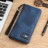 Jual Beli Man Long Wallet Clutch Bag Multi Function Multi Card Wallet Fashio Leisure Time High Capacity Handbag Intl