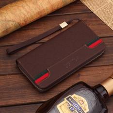 Spesifikasi Man Long Tas Clutch Dompet Multi Fungsi Multi Dompet Kartu Fashio Waktu Luang Berkapasitas Tinggi Handbag Intl Dan Harganya