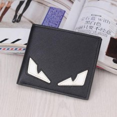 Beli Man Short Monster Dompet Multi Dompet Kartu Bisnis Retro Korea Gaya Tipis Youth Siswa Leisure Simple Fashion Kartun Intl Haotom Online
