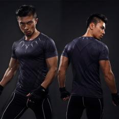 Beli Barang Baju Superman Lengan Pendek Cepat Kering Black Panther Lengan Pendek Black Panther Lengan Pendek Online