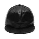 Cuci Gudang Topi Pria Wanita Bahan Kulit Imitasi