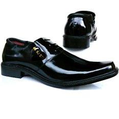 Promo Mandiens Pdh Sj 275 Lux Sepatu Formal Pria Kulit Export Quality Hitam Akhir Tahun