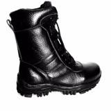 Jual Mandiens Pdl Tni Mil Sepatu Boots Pria Kulit Asli Model Jatah Tni Hitam Branded Murah