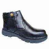 Spek Mandiens Safety Shoes Snaekers Kulit Asli Kr 4 Man Dien Store
