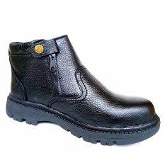Mandiens Safety Shoes Snaekers Kulit Asli Kr 4 Diskon Akhir Tahun