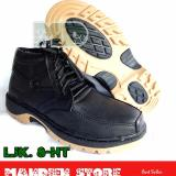 Jual Beli Online Mandien S Sepatu Cassual Kulit Asli Semi Boots Ljk 8 Hitam