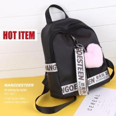 Toko Mangoesteen Tas Ransel Wanita Tas Backpacks Darling Gratis Pompom Korea Terlengkap