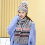 Beli Manis Cantik Muda Korea Topi Wol Topi Abu Abu Terang Terbaru