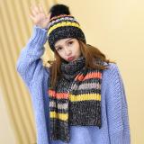 Jual Manis Cantik Muda Korea Topi Wol Topi Hitam Lengkap