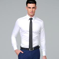... Kantor Casual Formal Modern Slim Fit Hitam Harga Spesifikasi. Source · Manoble Kualitas Tinggi 100% Katun 2016 Korea Stylish Dress Kemeja Lengan Panjang ...