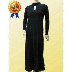 Jual Manset Dalaman Gamis Wanita Muslimah Hitam Manset Ori
