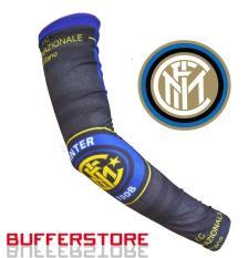 Manset Tangan Full Print Motif Bola Inter Milan (Arm Sleeve- Handsock- Football-Sepeda-Motor)