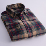 Spesifikasi Manuel Sika Musim Gugur Baru Katun Lengan Panjang Kemeja S3810 Baju Atasan Kaos Pria Kemeja Pria Yg Baik