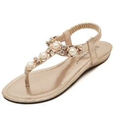 Produsen Jual Da Ling Sandal 2018 T-Perban Sandal Datar Sandal Datar-Internasional