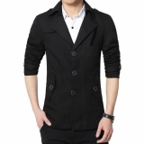 Spesifikasi Manzone Blazer Pria Elegant Slimfit Modern Hitam Yang Bagus