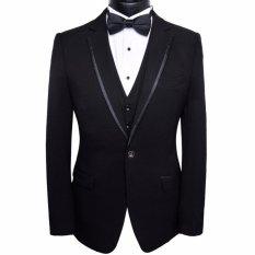 Top 10 Manzone Blazer Pria Korean Style Slimfit Elegant Hitam Online