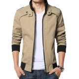 Spesifikasi Manzone Fashion Men Jacket Casual Modern Style Cream Manzone