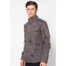 Harga Manzone Fashion Pria Jaket Modern Style Abu Abu Merk Manzone