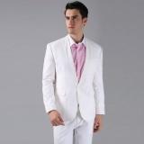 Beli Manzone Setelan Jas Formal Modern Slimfit Style Putih Baru