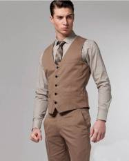 Harga Manzone Vest Dan Celana Elegant Design Cool Gentlemen Cokelat Seken