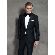 Promo Manzone Jas Formal Elegant Slimfit Style Hitam Manzone Terbaru