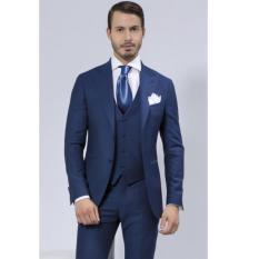 Toko Manzone Jas Pria Exclusive Slimfit Elegant Biru Online